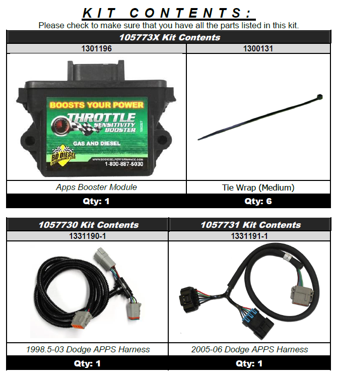 BD Diesel 1057735 Throttle Sensitivity Booster