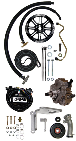 PPE Duramax Dual Fueler Kit (02-04) LB7 With Pump (1130610)